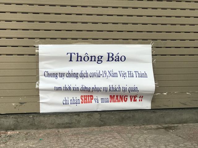 Tránh dịch Covid-19, hàng quán Hà Nội đồng loạt đóng cửa, chỉ nhận ship-9