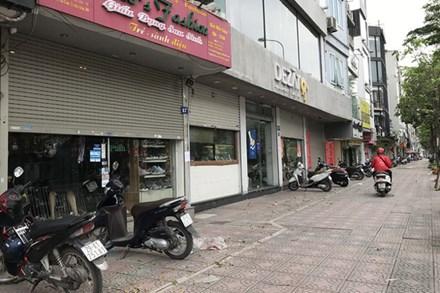 Tránh dịch Covid-19, hàng quán Hà Nội đồng loạt đóng cửa, chỉ nhận ship