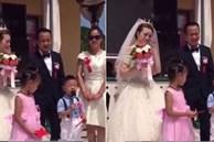 Cháu trai 4 tuổi dằn mặt chú rể trong đám cưới của dì khiến cả hội trường cười lăn lộn vì quá ngộ nghĩnh và già đời