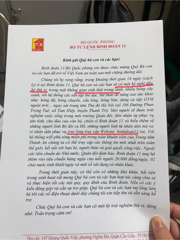 Nữ du học sinh Hà Lan và chia sẻ về những chú bộ đội trong 14 ngày cách ly tập trung: Cái dáng cúi gập người cảm ơn đồng bào khiến ai cũng rơi nước mắt-1