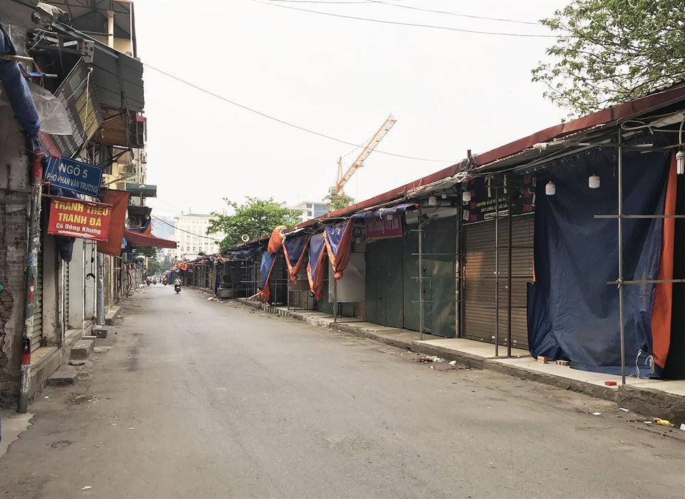 Các khu chợ sinh viên ở Hà Nội đồng loạt đóng cửa phòng dịch Covid-19-1