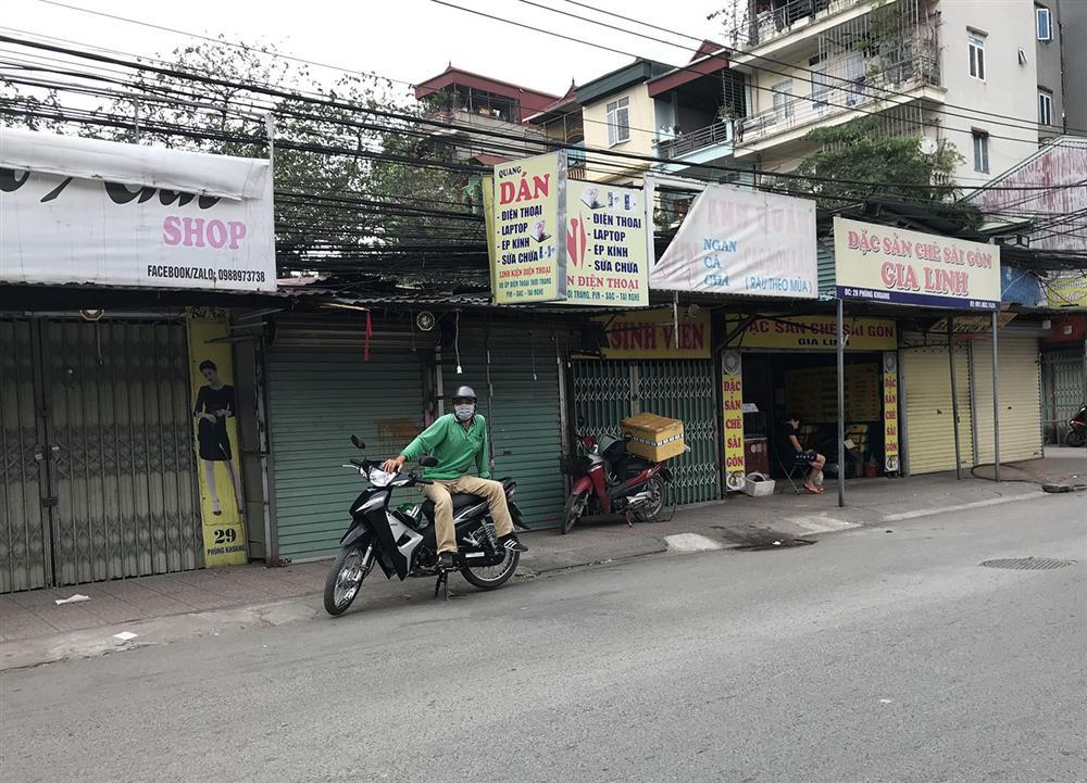 Các khu chợ sinh viên ở Hà Nội đồng loạt đóng cửa phòng dịch Covid-19-4
