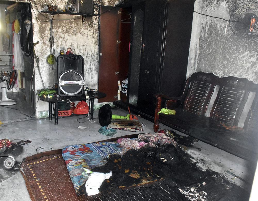 8 giờ truy bắt người đàn ông phóng hỏa đốt nhà, thiêu 2 mẹ con ở Vũng Tàu vì mâu thuẫn tình cảm-1