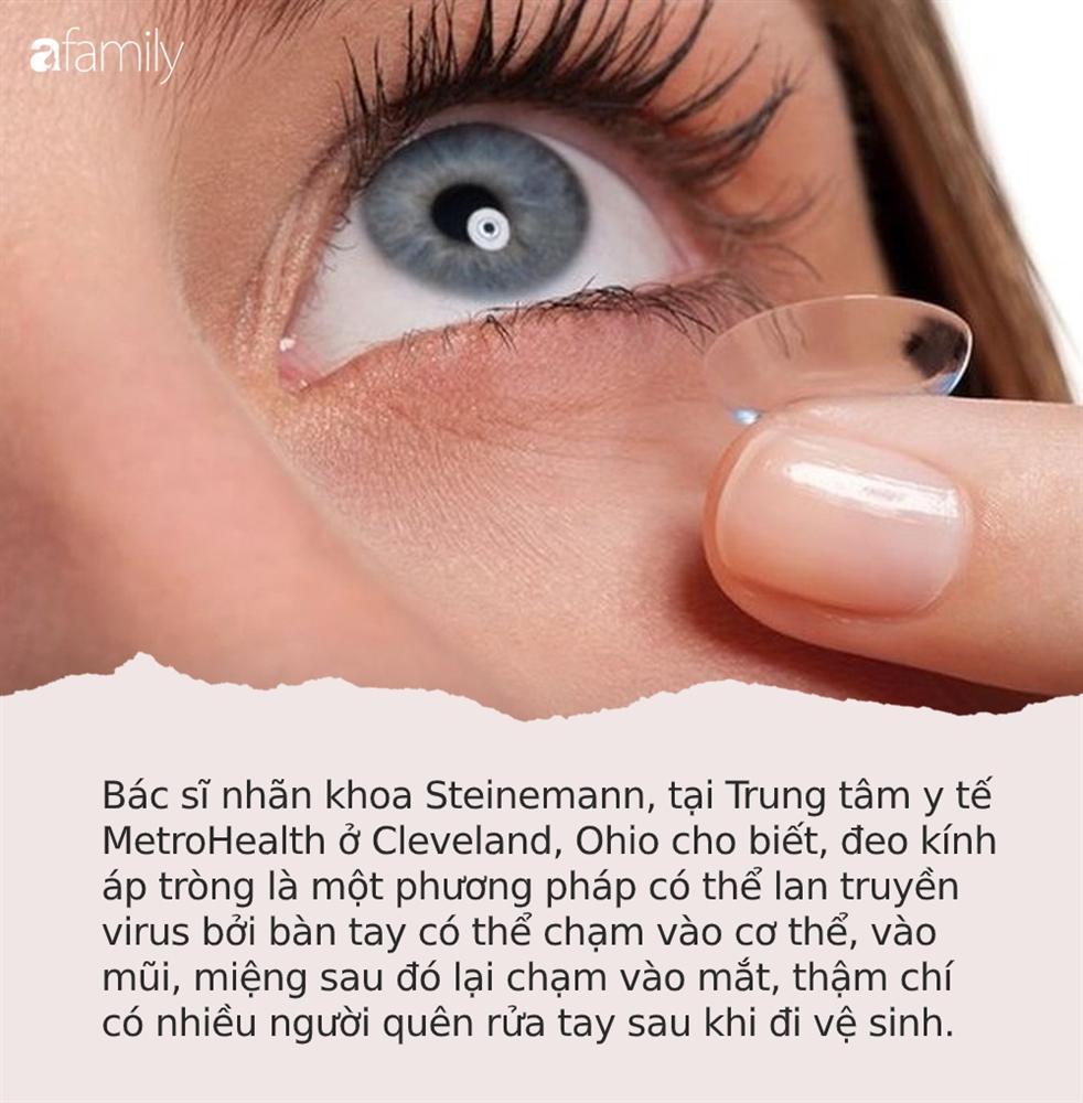 Trong mùa dịch Covid-19, chuyên gia khuyến cáo chị em vì 2 lý do này mà tuyệt đối đừng dùng kính áp tròng-1