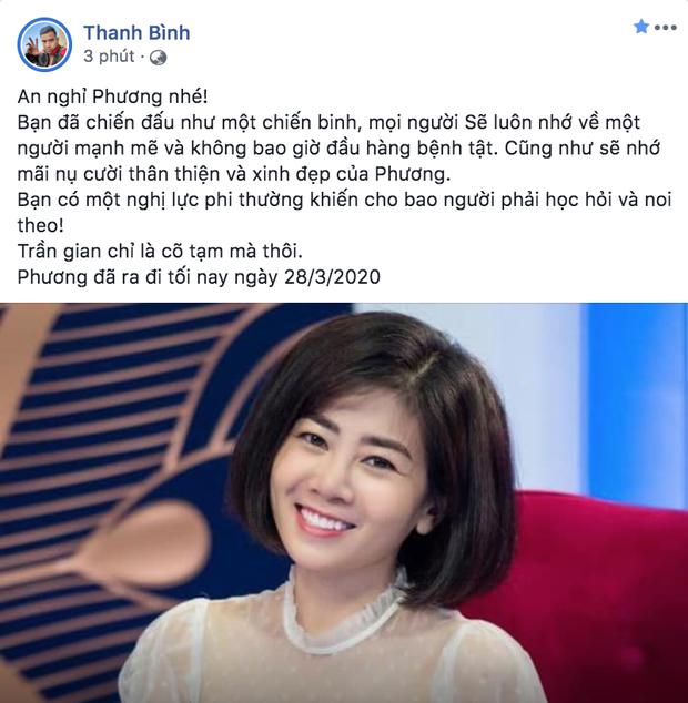 Bạn bè nghệ sĩ bàng hoàng, thương xót khi nghe tin diễn viên Mai Phương qua đời vì ung thư phổi-2