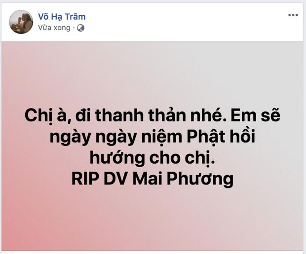 Bạn bè nghệ sĩ bàng hoàng, thương xót khi nghe tin diễn viên Mai Phương qua đời vì ung thư phổi-4