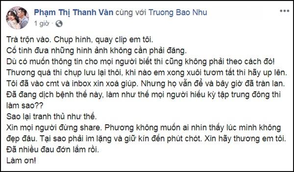 Ốc Thanh Vân, Đại Nghĩa phẫn nộ vì có người trà trộn chụp hình thi thể Mai Phương-2