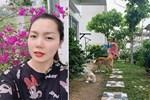Hé lộ không gian vườn nhà của ca sĩ Nguyễn Ngọc Anh