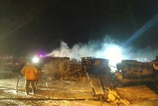 Vụ cháy nổ máy bay ở Manila: 8 nạn nhân là người Philippines, Mỹ, Canada-1
