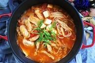 Tôi học được cách nấu miến ngon ngất ngây của người Hàn, ăn hoài không sợ tăng cân