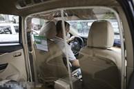 """Taxi công nghệ """"tung chiêu độc"""" đối phó với dịch bệnh Covid-19"""