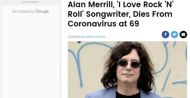 Huyền thoại nhạc rock được ghi nhận đã qua đời do nhiễm Covid-19-1
