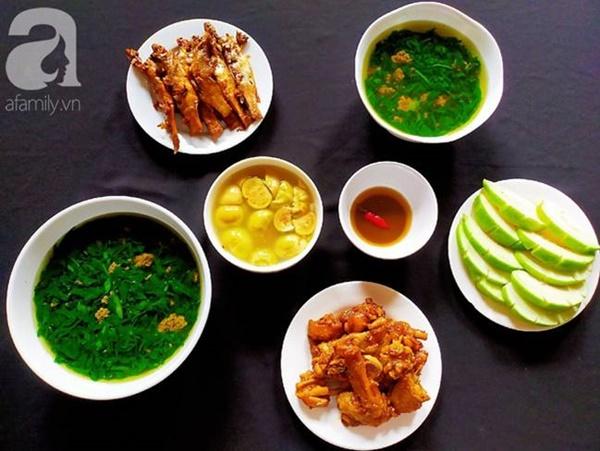 Mâm cơm tối giản dị đủ chất mà ngon miệng, cả nhà ai cũng thích mê-6