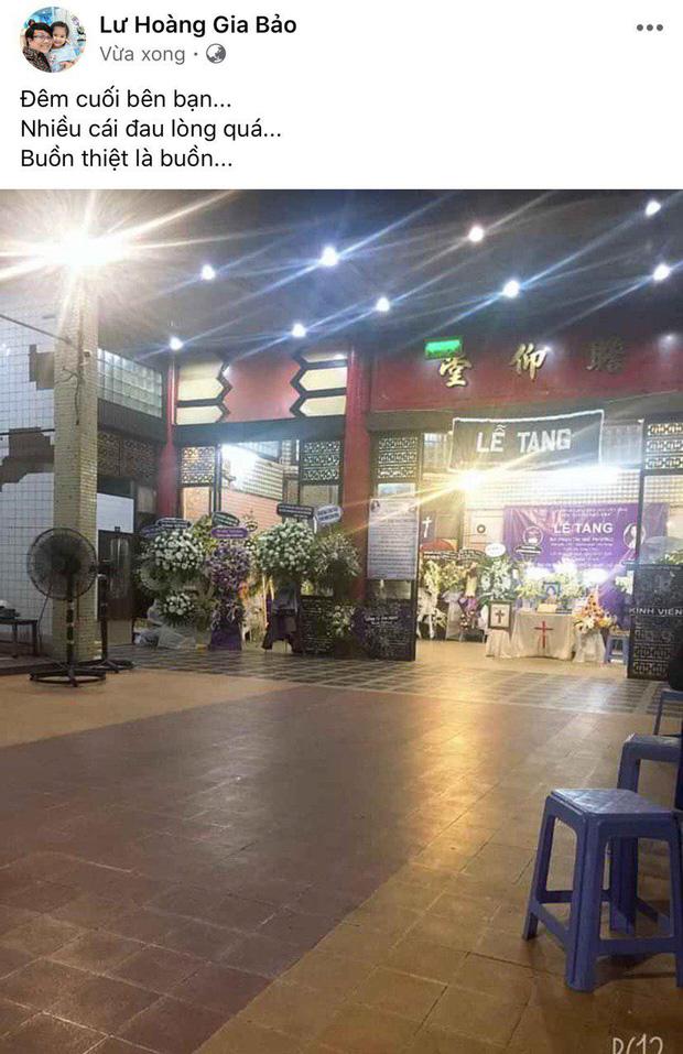 NS Trịnh Kim Chi, Gia Bảo cùng nhiều đồng nghiệp không nén được đau thương trong đêm trước khi tiễn biệt Mai Phương về nơi an nghỉ cuối cùng-2
