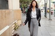 Gu thời trang đối lập hoàn toàn giữa Hà Tăng và em chồng Tiên Nguyễn