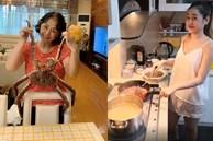 Khoe ảnh con gái vào bếp, mẹ Chi Puđược khen 'Nhà 2 gái, hái ra tiền'