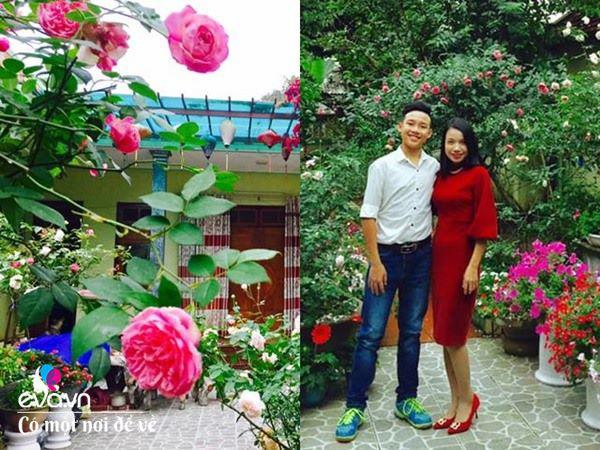 Cô giáo xứ Thanh cải tạo vườn trống, 4 năm sau có ngôi nhà hoa hồng đẹp như mơ-6
