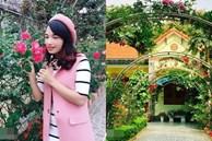Cô giáo xứ Thanh cải tạo vườn trống, 4 năm sau có ngôi nhà hoa hồng đẹp như mơ