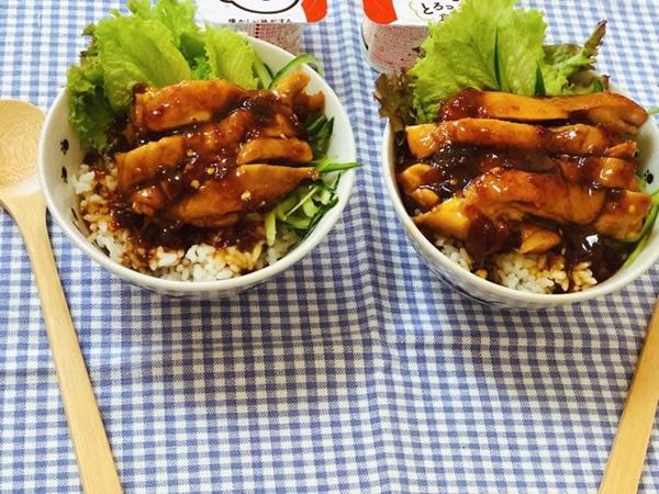 Cơm gà sốt mơ chua ngọt và 7 công thức chế biến thịt gà ăn là mê-1