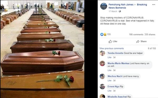 Sự thật đằng sau bức ảnh quan tài xếp lớp cư dân mạng lan truyền để cảnh báo mức độ thảm khốc ở Italy khi sóng thần Covid-19 ập đến-1
