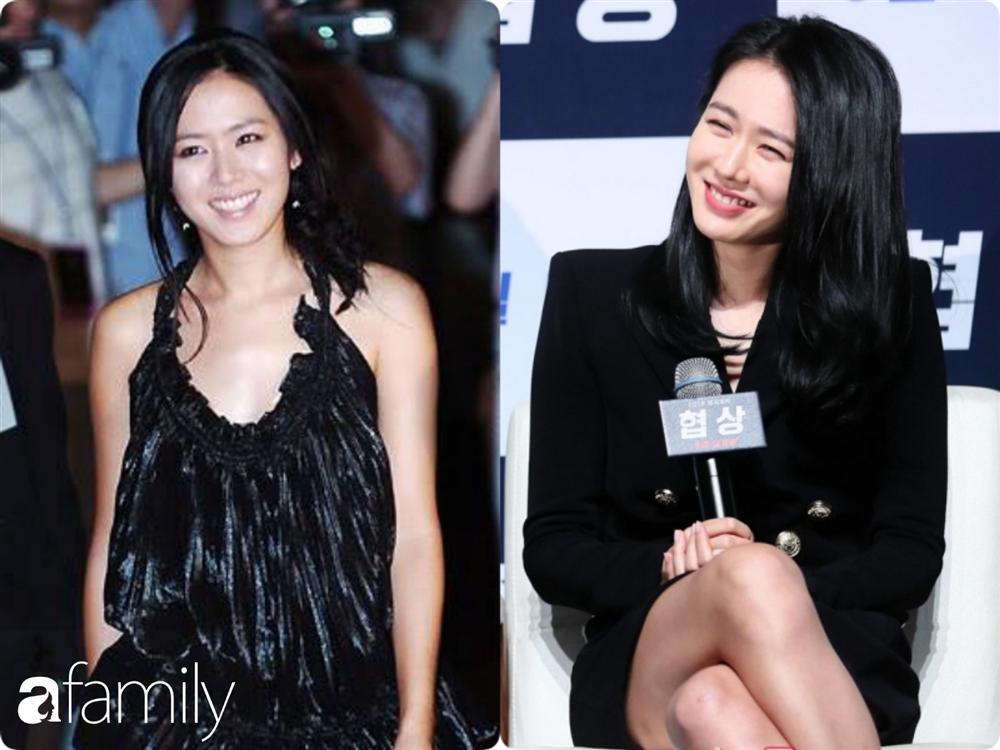 Nhan sắc hoàn hảo như chị đẹp Son Ye Jin cũng có lúc bị dìm không thương tiếc chỉ vì kiểu tóc rối bời hay màu son hồng cánh sen-2