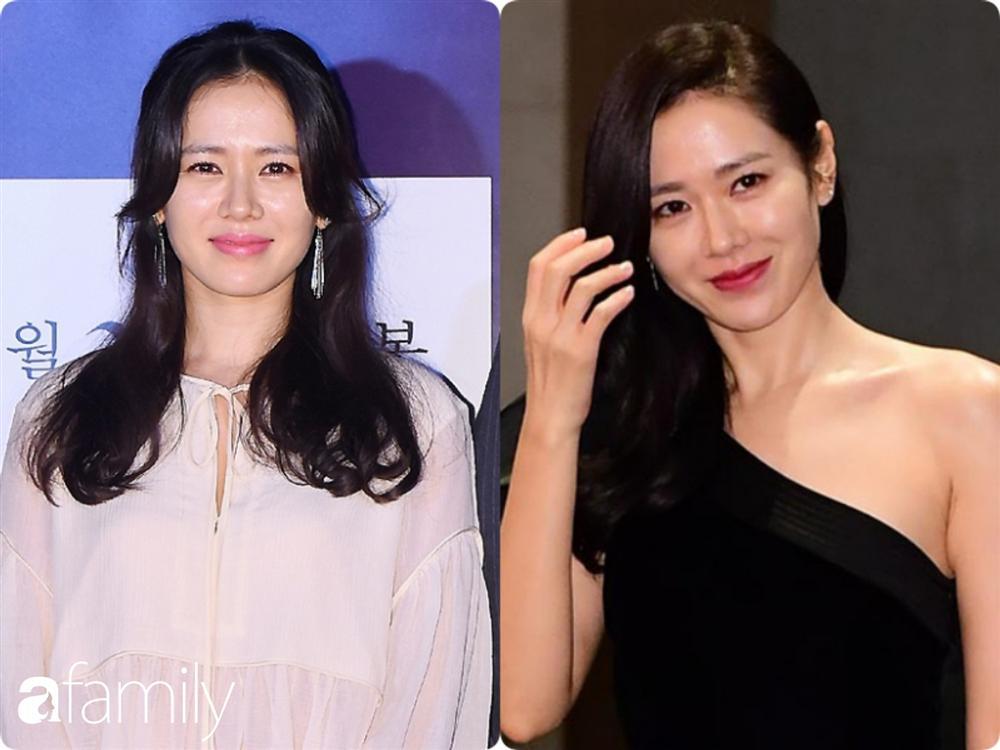 Nhan sắc hoàn hảo như chị đẹp Son Ye Jin cũng có lúc bị dìm không thương tiếc chỉ vì kiểu tóc rối bời hay màu son hồng cánh sen-3