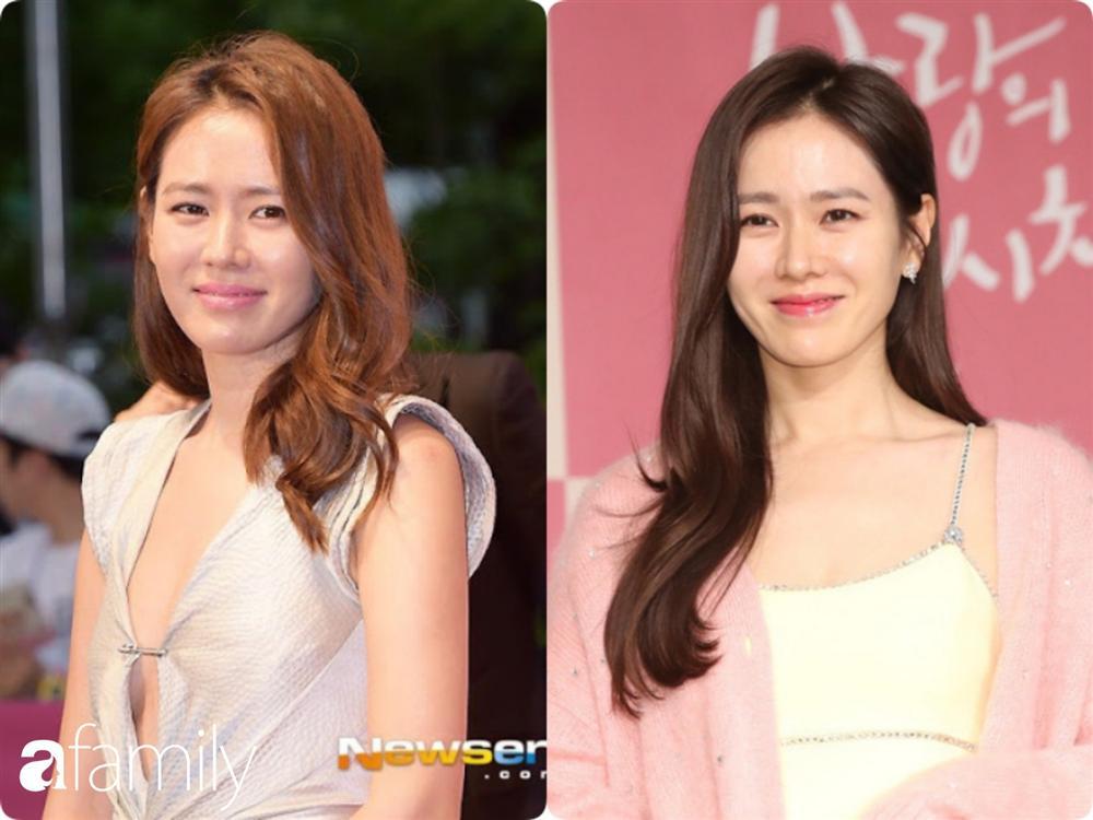 Nhan sắc hoàn hảo như chị đẹp Son Ye Jin cũng có lúc bị dìm không thương tiếc chỉ vì kiểu tóc rối bời hay màu son hồng cánh sen-4