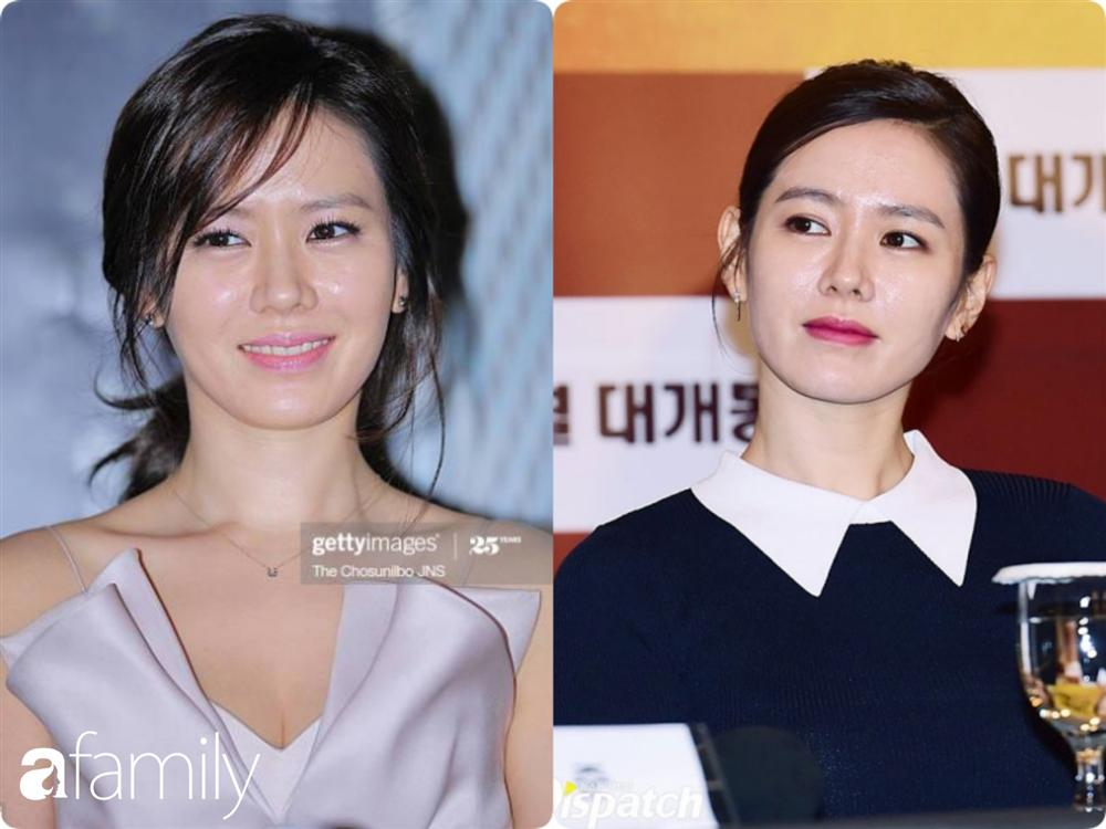 Nhan sắc hoàn hảo như chị đẹp Son Ye Jin cũng có lúc bị dìm không thương tiếc chỉ vì kiểu tóc rối bời hay màu son hồng cánh sen-5