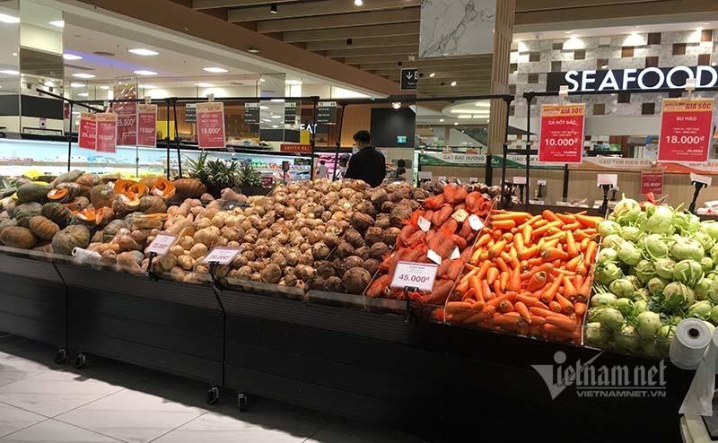 Gạo, thịt, rau... hàng chục triệu tấn, chợ vẫn mở tha hồ mua-1