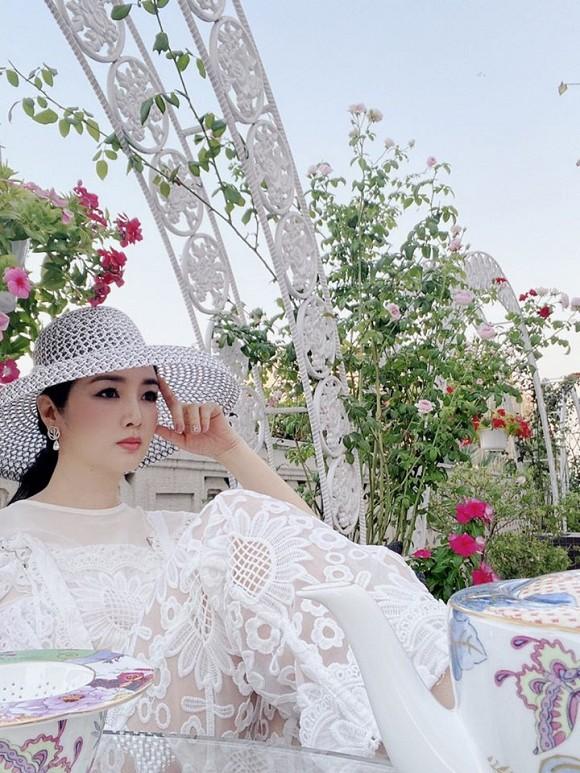 Khu vườn rau sạch trong biệt thự của Hoa hậu Đền Hùng Giáng My-9