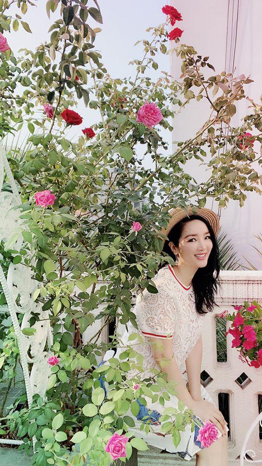 Khu vườn rau sạch trong biệt thự của Hoa hậu Đền Hùng Giáng My-10
