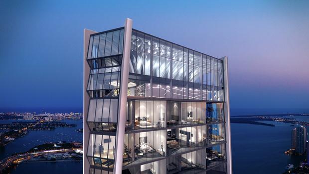 Choáng với căn hộ siêu khủng nhà Beckham mới tậu: Nằm trên tòa tháp cao nhất thành phố, phòng ốc rộng mênh mông lại có chỗ đáp trực thăng riêng-1