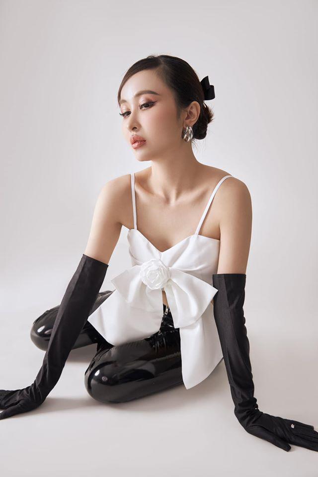 Khéo mặc như vợ hai đại gia Minh Nhựa: diện toàn item khó xơi vẫn được chồng khen-3
