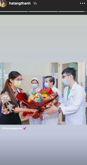 Sau Phillip Nguyễn, Hà Tăng cũng nồng nhiệt đón chào Tiên Nguyễn xuất viện, khẳng định mối quan hệ chị dâu em chồng tốt đẹp-2