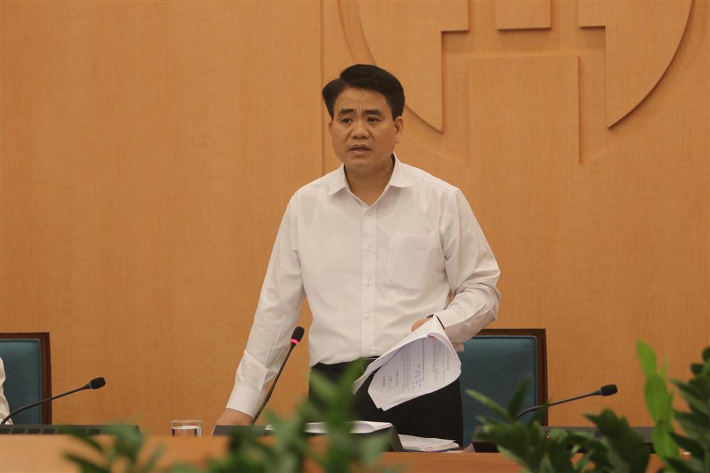 Chủ tịch Nguyễn Đức Chung: Số ca mắc Covid-19 tại Hà Nội đang cao nhất cả nước, hạn chế mức thấp nhất việc lây lan dịch bệnh tại BV Bạch Mai-1