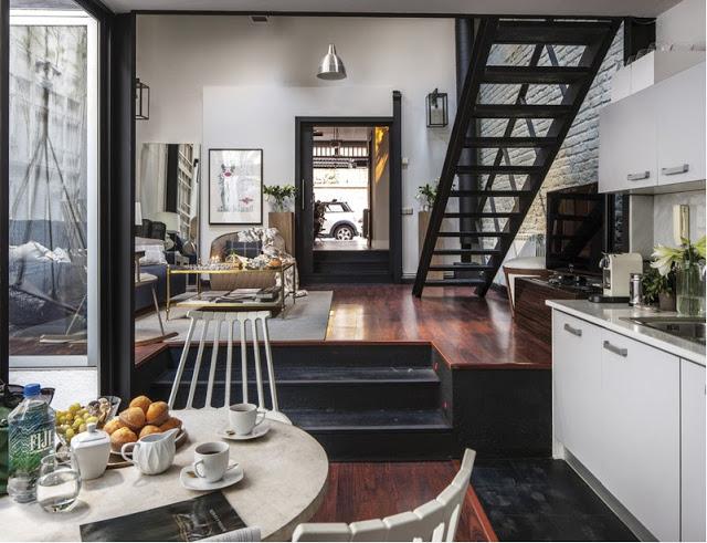 Ngôi nhà 30m² khiến chủ nhân chỉ muốn ở trong nhà do cách thiết kế kết hợp không gian sống và sở thích giải trí cá nhân-3