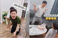 Nhật ký ở nhà tránh dịch hài hước của bà mẹ 2 con Hà Nội: 'Nhà có 1 ông chồng rất dễ thương, nghỉ làm kiêm luôn chức quản gia, cơm lo 4 bữa'