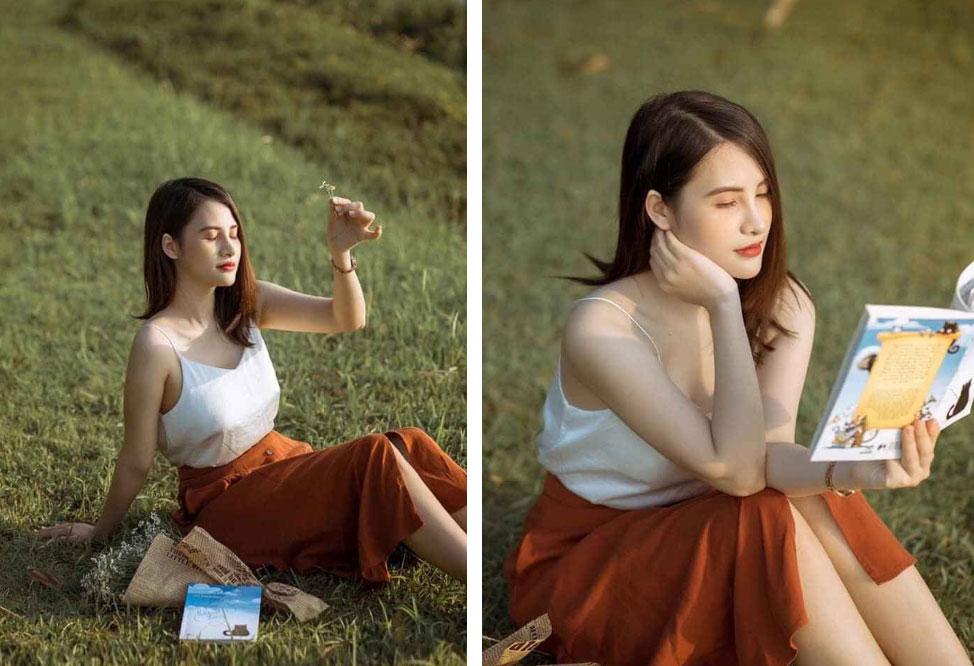Giảng viên Học viện Tài Chính sở hữu nhan sắc cân đẹp camera thường khi dạy online khiến học trò thả tim rần rần-2