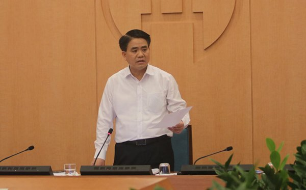 Chủ tịch Hà Nội: Thành phố đã có trường hợp F2 Covid-19 trở thành F0 ở quận Long Biên-1