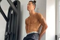 Ronaldo: Chỉ cần khoe sương sương body đẹp như tượng tạc thôi mà đã thu về tới hơn 8 triệu lượt thả tim