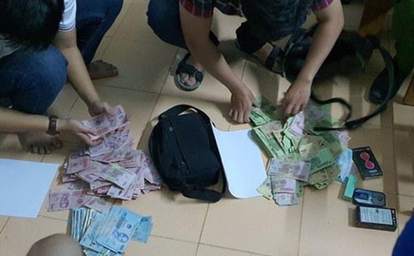 Táo tợn cướp ngân hàng Vietcombank-1