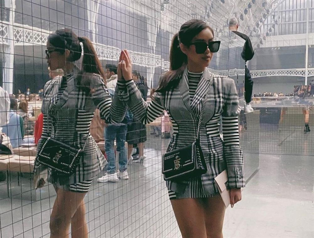 Tiên Nguyễn toàn đeo túi hàng hiệu, có chiếc Chanel cá sấu 40.000 USD-1