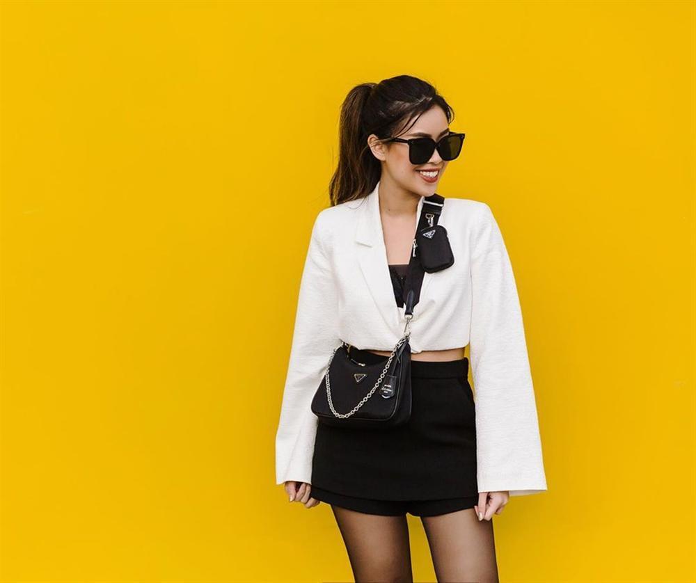 Tiên Nguyễn toàn đeo túi hàng hiệu, có chiếc Chanel cá sấu 40.000 USD-3