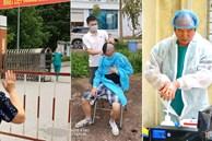 Ngủ ít, nhịn vệ sinh suốt 6 tiếng, mặt đầy vết hằn, gặp người thân qua hàng rào cách ly: Những bức ảnh chân thực nhất về y bác sĩ Việt Nam nơi tuyến đầu chống dịch Covid-19