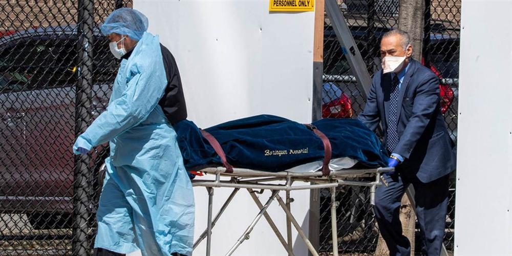 Đại dịch Covid-19 ngày càng tệ hơn, Mỹ chuẩn bị sẵn 100.000 túi đựng thi thể cho tình huống xấu nhất-2