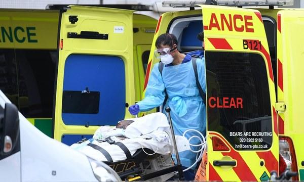 Số ca tử vong vì virus corona tại Anh tăng cao chưa từng thấy-2