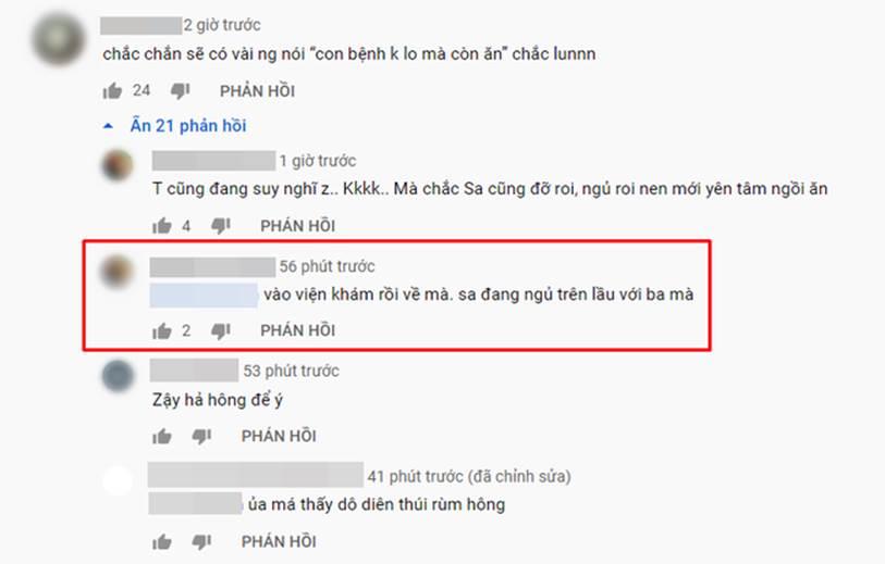 Vừa ra vlog mới vừa tiết lộ bé Sa bị sốt tận 39 độ còn co giật tới mức cắn vào tay mẹ, Quỳnh Trần JP khiến bao fan lo lắng vì thương Sa-7