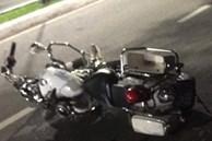 Hiện trường vụ hai cảnh sát hy sinh khi truy bắt nhóm đua xe