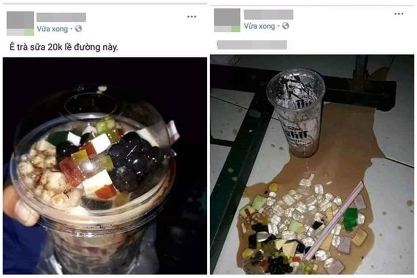 Hí hửng mua được cốc trà sữa rẻ mà đầy ú ụ, thanh niên khoe ngay Facebook và khoảnh khắc sau đó mới giận tím người-1