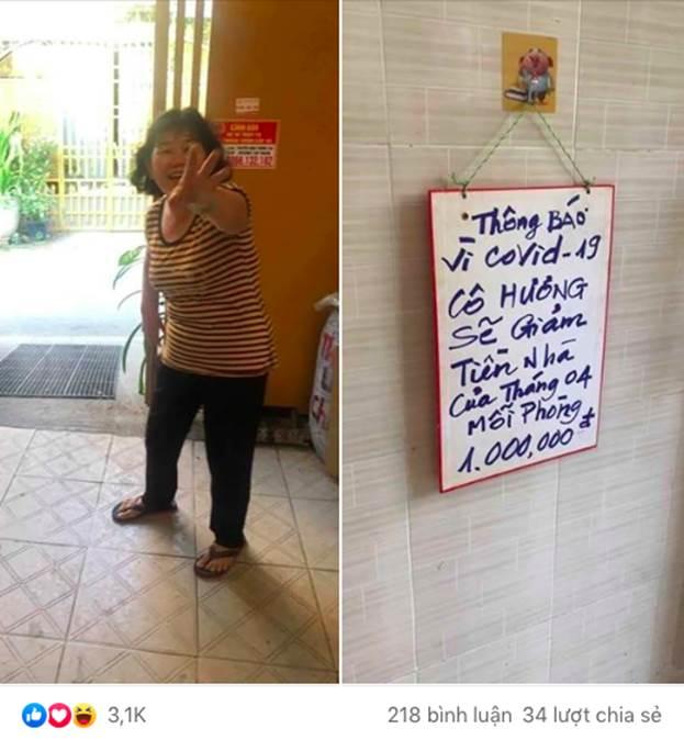 Cô chủ nhà trọ mặc kệ khoản nợ ngân hàng vẫn quyết chí giảm hẳn 1 triệu mỗi phòng cho khách thuê khiến dân mạng thả tim rần rần-2